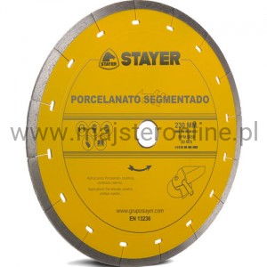 TARCZA DIAMENT.SEGMENTOWA 350MM 25,4 STAYER PORCE.